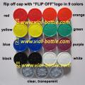 Various 20mm colorful flip off seals with