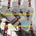 DP printed silver cardboard box 10ml vial box label sticker